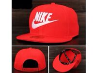 BRAND NEW NIKE SNAPBACK CAP ADJUSTABLE RED