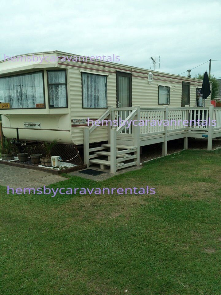 2 Caravans to rent at Long Beach Hemsby near Great Yarmouth Norfolk