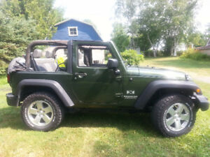 2008 Jeep Wrangler X Trail Rated, VUS