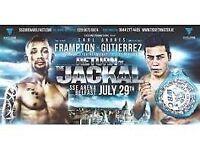Carl Frampton 2 Tickets, Good Seats
