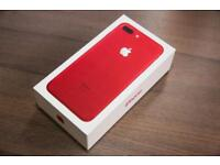 Apple IPhone 7 Red 128GB Brand New Tesco Mobile Unwanted Upgrade