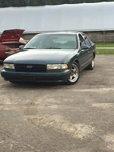 Beautiful! 1995 impala ss very rare