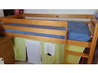 Great condition bunk bed single