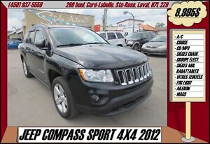 2012 Jeep Compass SPORT 4X4 A/C CRUISE