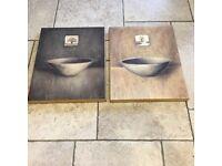 2 Canvas prints