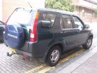 HONDA CRV NEW SHAPE AUTOMATIC 53 REG @@@@ 5 DOORS 4X4 JEEP @@@@