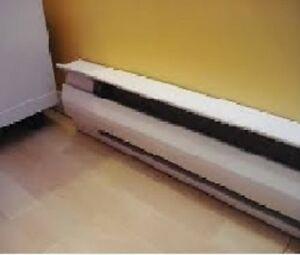 Heater electric baseboard 485watt 220 volt