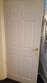 6 panel internal door H1981 x W838