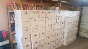 Would love to partner with a group to run a used book sale!