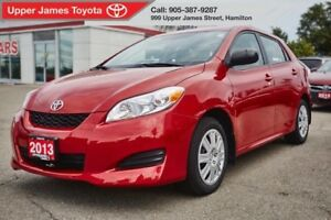 2013 Toyota Matrix Only one former owner.