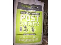 Fencemate Post Concrete x8 Two Step Fast Set - 20kg