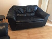 Two seater sofas x 2