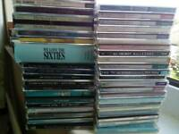 CD's 43 in total, various genres