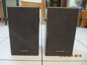 Classic Realistic Radio Shack Minimus 8 Solid WoodSpeakers 1970s