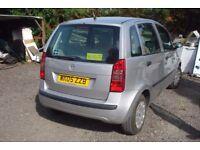 fiat idea active 1368 cc, 2005-05-reg, new MOT upon purchase 125,000 miles,