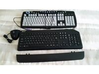two keyboards