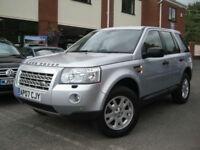 2007 Land Rover Freelander 2 2.2Td4 XS,BRILLINAT SILVER,SUPERB VALUE!!!!!