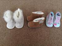 Beautiful baby girls shoes