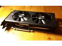 RX 480 8GB factory overclocked (AMD Sapphire Nitro+) graphics card - excellent condition