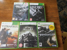 XBOX 360 LIVE PDP X 5 Games-FREE Postage