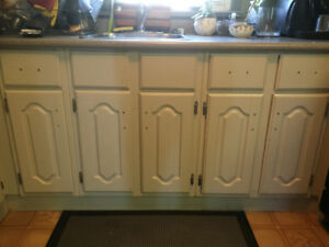 Kitchen Cupboards and a 6' of Countertop