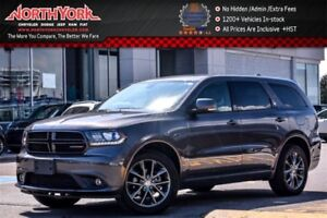 2017 Dodge Durango GT AWD|6-Seater|Leather|Sunroof|Nav|Backup Ca