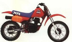 Looking for 1985 Honda xr80r  parts