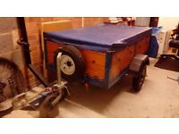 Trailer in very good condition.