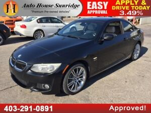 2011 BMW 335i COUPE XDRIVE AWD M PACKAGE NAVIGATION