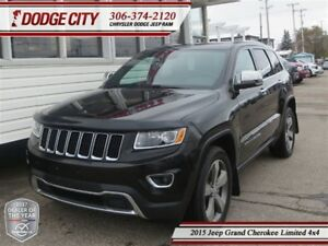 2015 Jeep Grand Cherokee Limited | 4x4 | PST PAID
