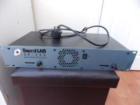 Sound lab 500 amplifier