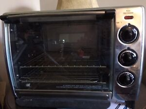 Convection/rotisserie/bake oven