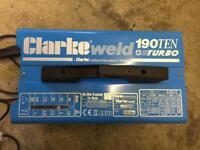 Clarke welder 190ten turbo