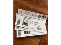PAW PATROL LIVE LIVERPOOL 3x TICKETS £50 GOOD SEATS ***