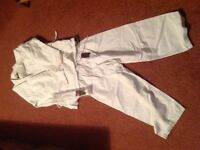 Karate / Ju jitsu suits and pads - approx ages 6 and 8