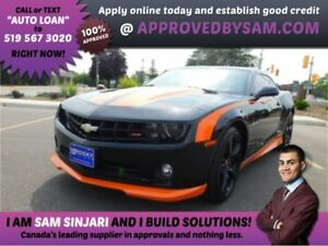 Camaro RS - APPROVEDBYSAM.COM GETS IT DONE!