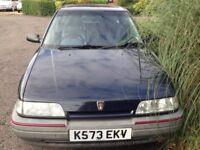 Classic car Rover 216gsi 16v
