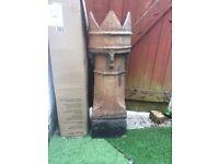 King crown chimney pot