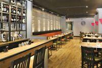 Fulltime/ Partime servers needed for busy restaurant.