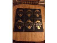 A short history of English people by John JR Green set of 6 hardback vintage