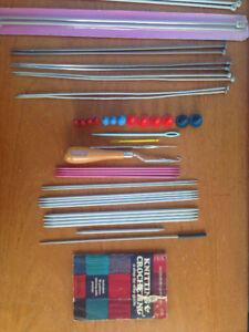 VINTAGE Knitting needles and accessories - All sizes/types
