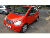 1998 MERCEDES BENZ A CLASS 1.4L PETROL VERY LOW MILEAGE FOR SALE