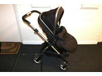 Silver Cross Pioneer Cot, Baby Seat And Pushchair - Full Travel System