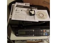 Epson WorkForce WF-2630 Four-in-One Colour Inkjet Printer with Wi-Fi and AirPrint
