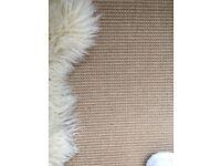 Jute Boucle eco friendly Natural carpet