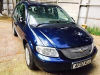 2002. Chrysler voyager. Manual. Blue. Fsh. Family 7 seater. Great drive. Mot till December.
