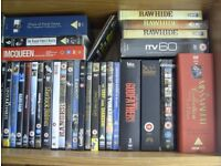 134 DVD'S, Films, Collections, Boxsets - All Excellent Condition And Original