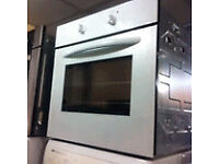 White built in single oven electric excellent condition sale£79.99 call today includes a warranty