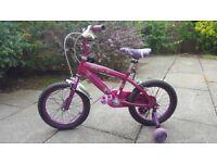Kids bicycle purple £30