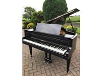 Black baby grand piano |Belfast Pianos 4.6ft |Free Delivery |